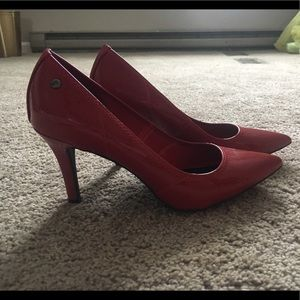 Red Vera Wang High Heels